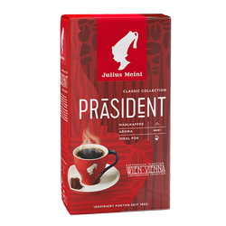 JULIUS MEINL Grounded Coffee Prasident 250g