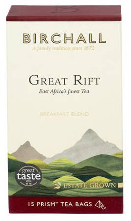 BIRCHALL Black Tea Great Rift  - 15 prism tea bags