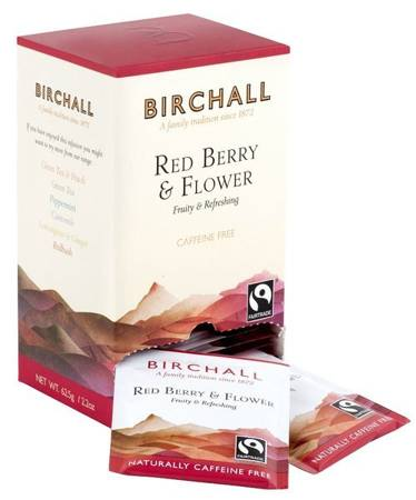 Birchall Red Berry & Flower - natural infusion, 25 enveloped tea bags