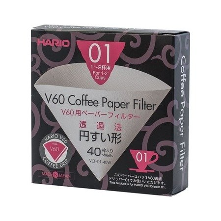Hario paper filters for V60-01 dripper