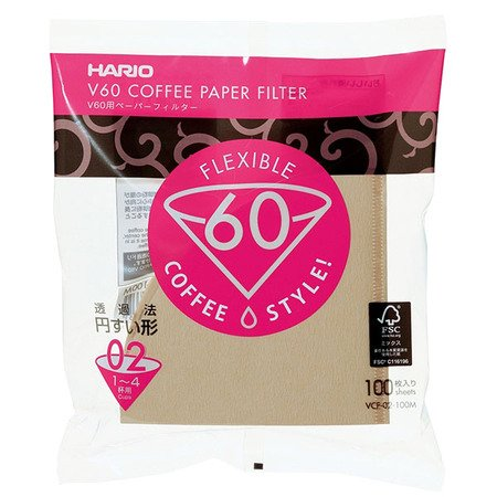 Hario paper filters for V60-02 dripper