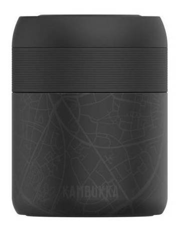 KAMBUKKA Thermal Bottle Reno Insulated Monsterra Leaves 500 ml