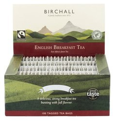 BIRCHALL Herbata czarna English Breakfast 100 torebek
