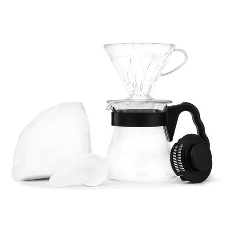 Hario zestaw V60 Pour Over Kit - drip + serwer + filtry