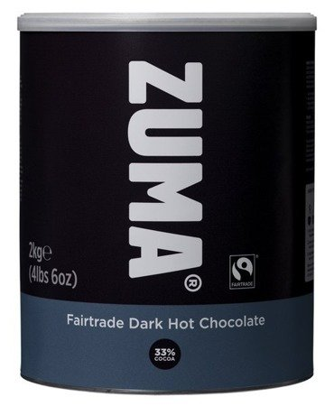 ZUMA Czekolada Fairtrade Dark Hot Chocolate 2kg